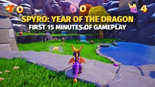 First 15 Minutes of Spyro: Year of the Dragon | Reignited Trilogy
