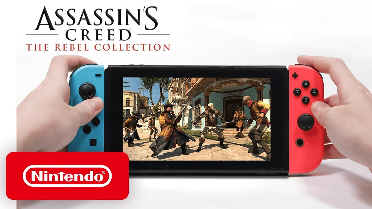 Assassin S Creed The Rebel Collection Launch Trailer Nintendo