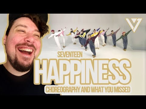 Mikey Reacts To SEVENTEEN 'Happiness' Choreography And What You Didn't Notice