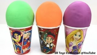 Ice Cream Play Doh Surprise Cups Tsum Tsum Zootopia Paw Patrol My Little Pony The Lion Guard Kinder