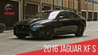 2016 Jaguar XF S Test Drive