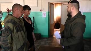 Военно-полевая свадьба: Здесь уже Россия!