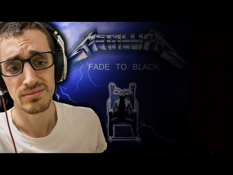 "Hip-Hop Head's FIRST TIME Hearing ""Fade To Black"" By Metallica"