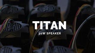 Feniex Titan 30W Siren // Compact Siren Speaker