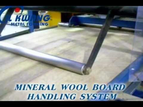 Mineral Wool Sandwich Panel Production Line (Machines)