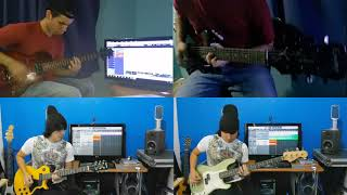 Kings Of Leon - Sex On Fire     Guitar & Bass Cover (feat @joecha)