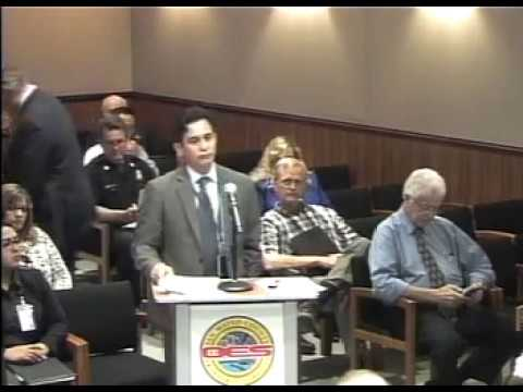 San Mateo County Emergency Services Council Meeting 20 April 2017