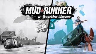 Создание афиши  для стрима Spintires: MudRunner