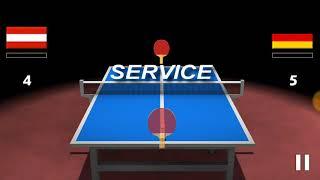 Table tennis serve tricks