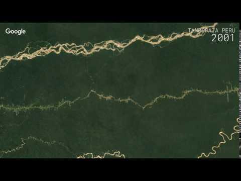 Google Timelapse: Tambopata Peru