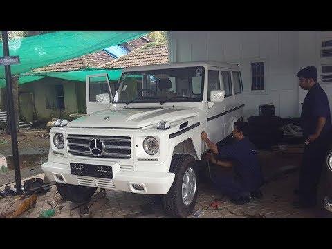 mahendra-bolero-modified-to-look-like-mercedes-g-wagon-!-!-!-  -car-care-tips-  