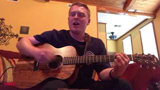 """Acoustic Cover of Jason Aldean's """"You Make It Easy"""""""