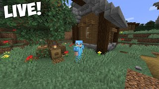 Minecraft 1.15 Survival Let's Play LIVE! - Come Join!