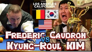 Frederic Caudron  Belgica Vs Kyung Roul K M Korea  USA  Million Dollar Billiards