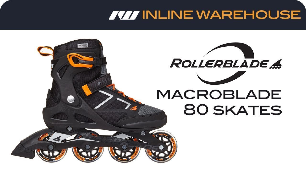 50a6302b0e3 2018 Rollerblade Macroblade 80 Skates Men's - YouTube