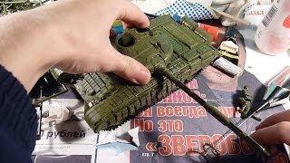 Складання моделі танка Т-72 1/35 ZVEZDA