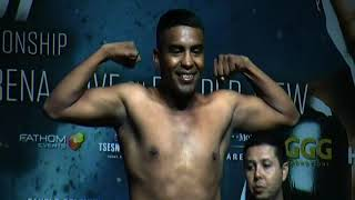CANELO ALVAREZ VS GENNADY GOLOVKIN LIVE WEIGH IN thumbnail