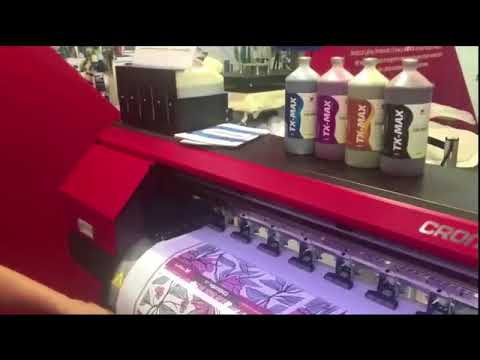 83842e90bc2bc Plotter Cromax Ampla Sublimação - YouTube