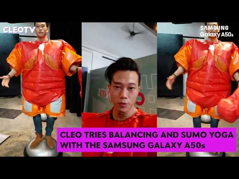 CLEO TRIES Doing Yoga In Sumo Suits | CLEO Tries |  CLEO Malaysia