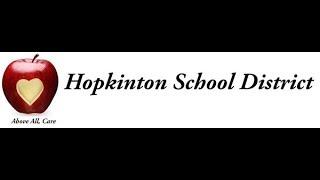 Hopkinton School Board 11/15/18