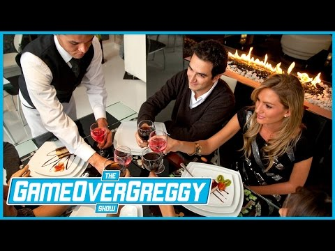 Nick's Stories of Being A Waiter  The GameOverGreggy  Ep. 164 Pt. 3