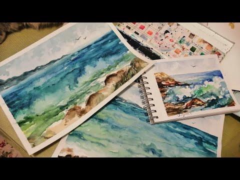 Видео урок по акварели