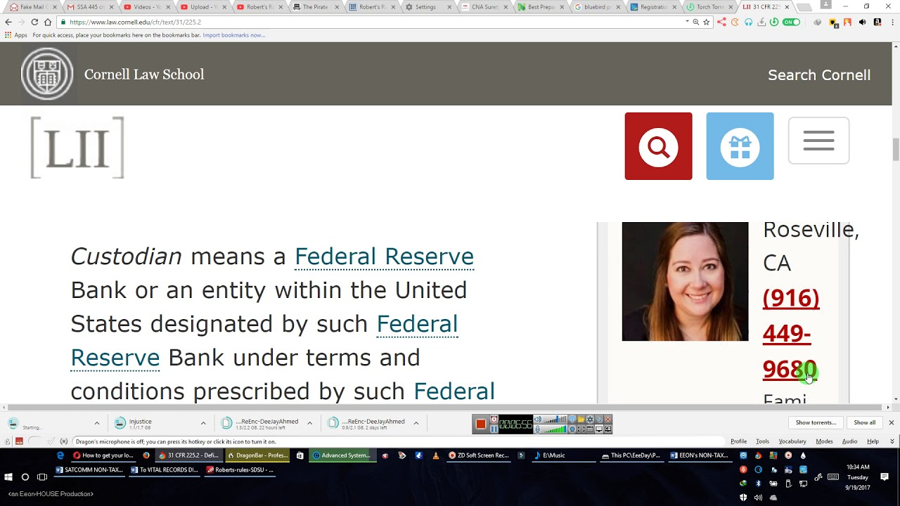 TDA FEDERAL RESERVE ACCESS THE RIGHT INFORMATION, JUDGE 4 UR SELF By EEON  2017 09 19