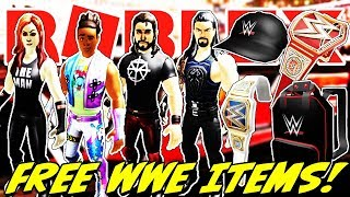 *FREE* WWE BUNDLES, BELTS, HAT AND BACKPACK IN ROBLOX | HOW TO GET THE WWE ITEMS