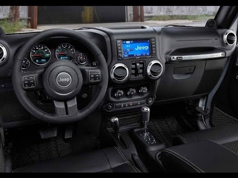 Jeep Rubicon Interior 2017