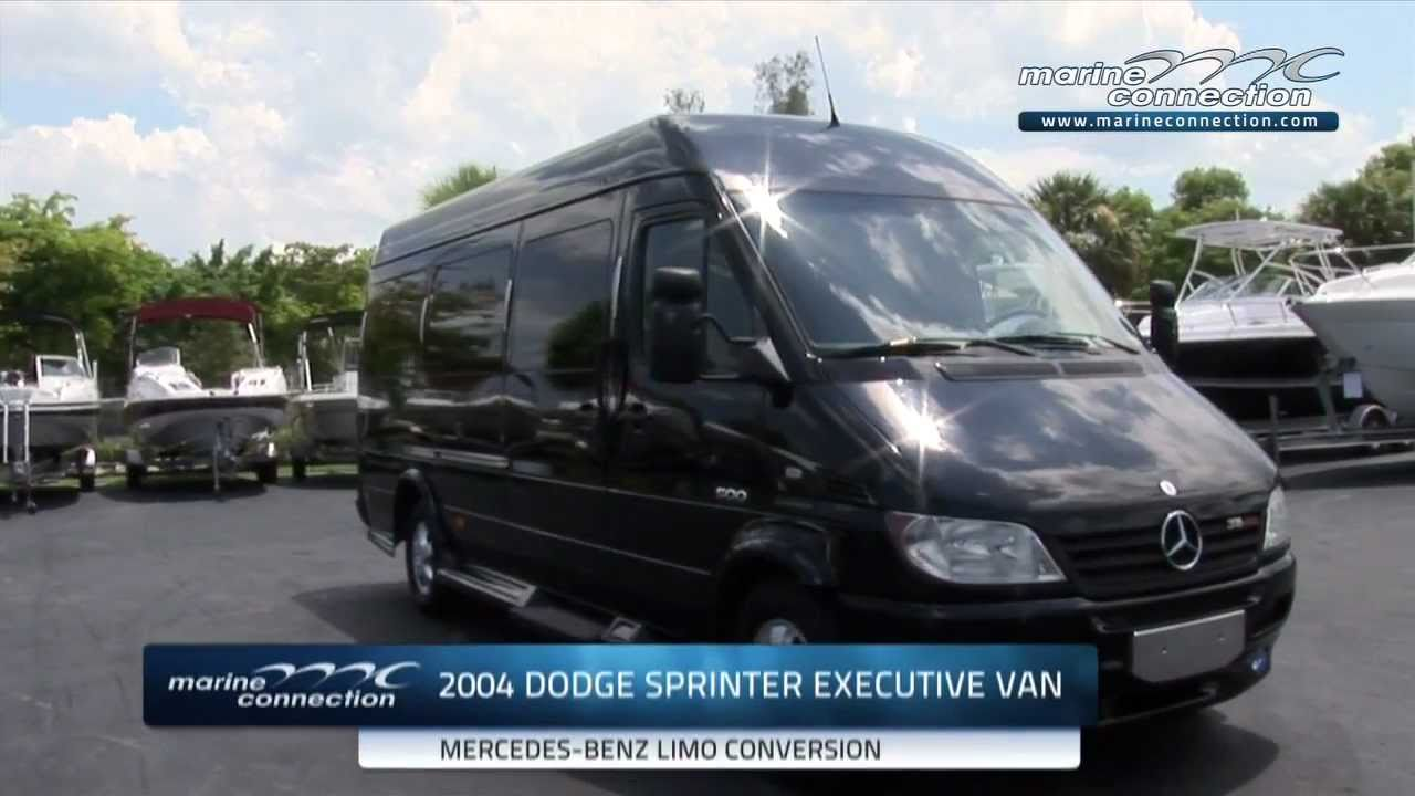 Dodge Sprinter Mercedes Benz Executive Limousine Van By