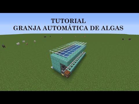 Tutorial Minecraft granja de algas automática