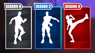 Top 10 Rarest Fortnite Dances | Season 0 - Season 10