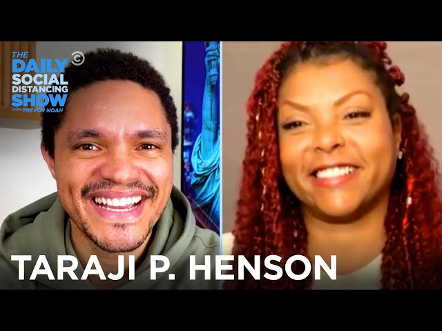 Taraji P. Henson - Free Therapy for Underserved Communities | The Daily Social Distancing Show