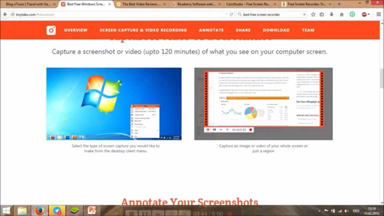 CamStudio Description for Windows 10