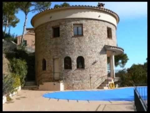 spanien ferienhaus mit privat pool am playa de pals costa youtube. Black Bedroom Furniture Sets. Home Design Ideas