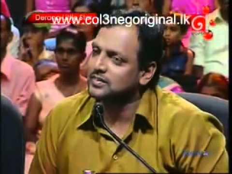 Thishimi is singing Pipi Kusuma Wadulu Simbimin Siri Parakum Derana Little Star 6