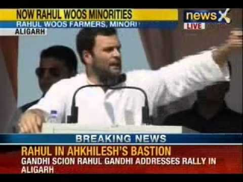 Rahul Gandhi blames politicians for Muzaffarnagar riots, says Poor die not politicians Travel Video