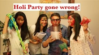 Holi Party gone Wrong - | Lalit Shokeen Comedy ...