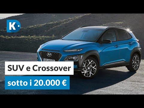 I MIGLIORI SUV E CROSSOVER SOTTO I 20.000 EURO
