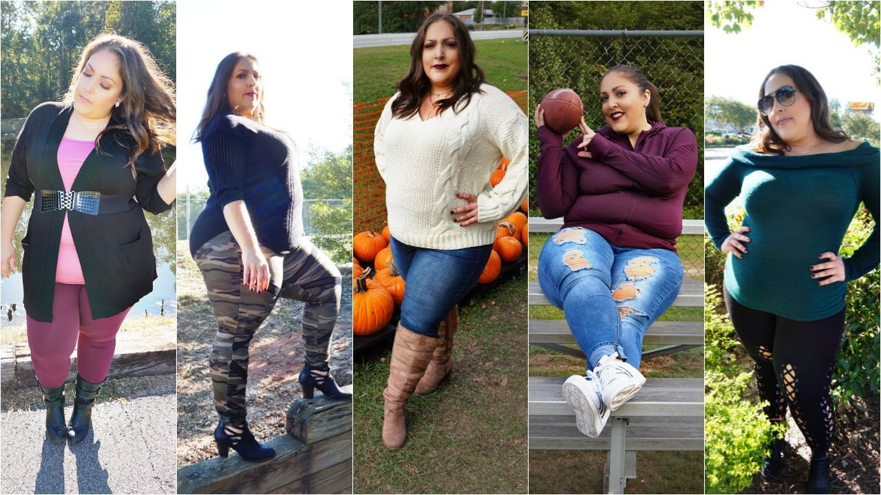 [VIDEO] - PLUS SIZE FALL LOOKBOOK | Plus Size Outfit Ideas 2018 PLUS SIZE FALL LOOKBOOK | COMFY & CASUAL 1