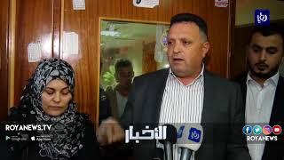الصحفيون يتضامنون مع زميل أصيب أثناء عمله في تغطية مسيرات غزة - (16-4-2018)