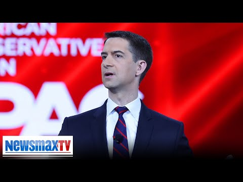 Sen. Tom Cotton at CPAC: 'WOKE' Democrats stand for the opposite of freedom | Newsmax TV coverage