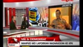 Tv one 2405 Mahfud MD Laporkan Nazaruddin Ke KPK e AVI