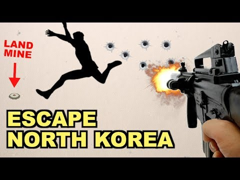 How Would You Escape North Korea?  (The 7 Choices)