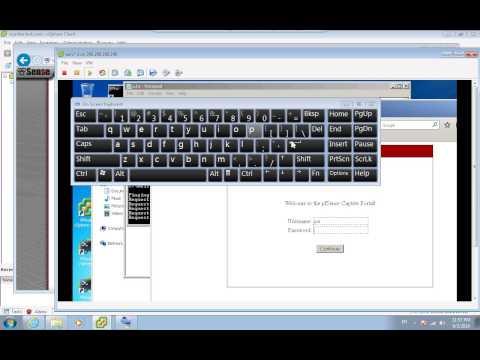 Pfsense captive portal voucher login page