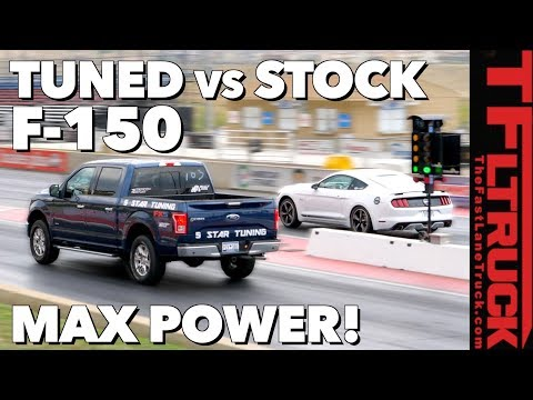 Ford F150: Does Tuning Your Truck Work? 0-60 MPH And 1/4 Mile Results