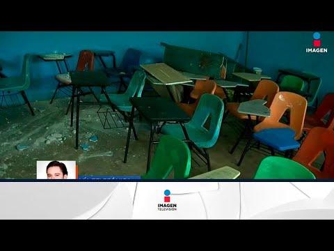 Casi 12 mil escuelas quedaron afectadas por el sismo 19S   Noticias con Francisco Zea