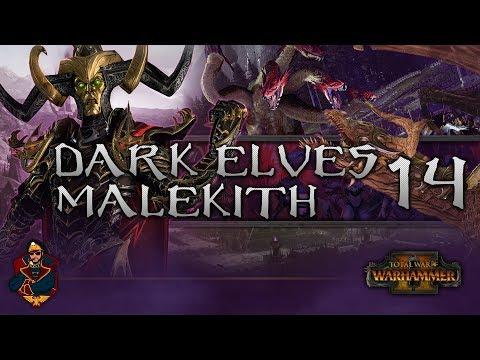 [14] SIEGE OF THE PHOENIX GATE!  - Total War: Warhammer 2 (Dark Elves) Campaign Walkthrough