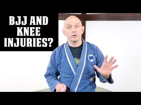 Can You Train BJJ With A Knee Injury