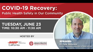 COVID 19 Recovery  Public Health Safety in Our Community